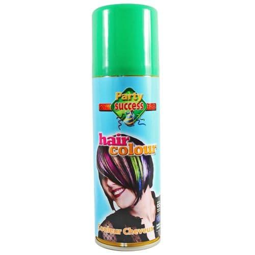 Temporary Hair Colour Hairspray Party Success - Green